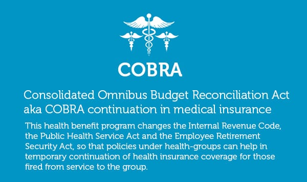 4 Health Insurance Benefits Plus 'COBRA': Keeps Every Employee Relaxed