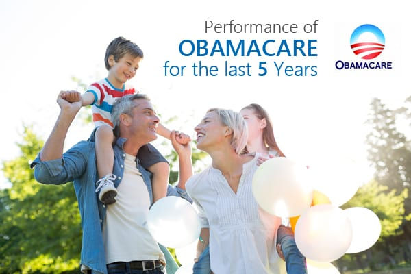 Performance of Obamacare in the Last 5 Years