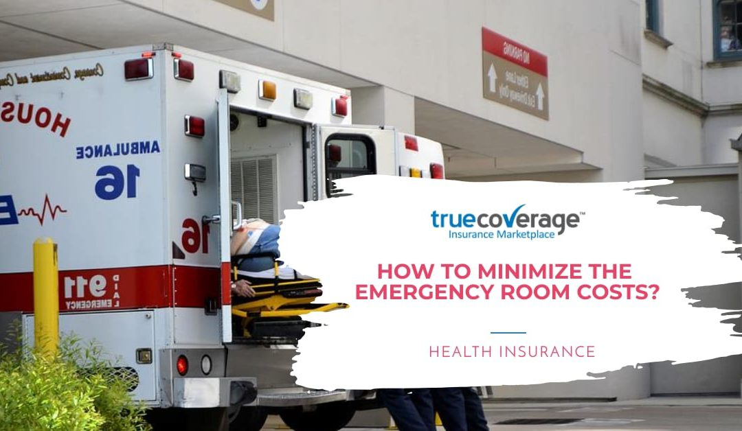 how to minimize the emergency room cost