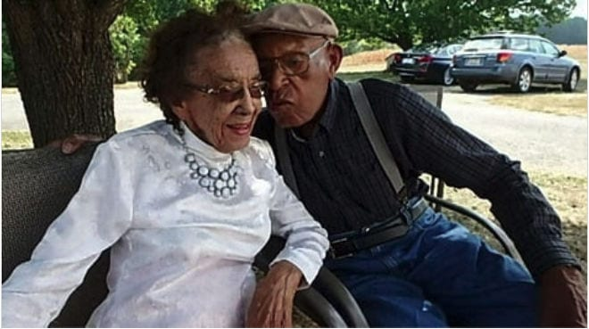 Meet the 105 yr old man and his bride(96): Married 79 years
