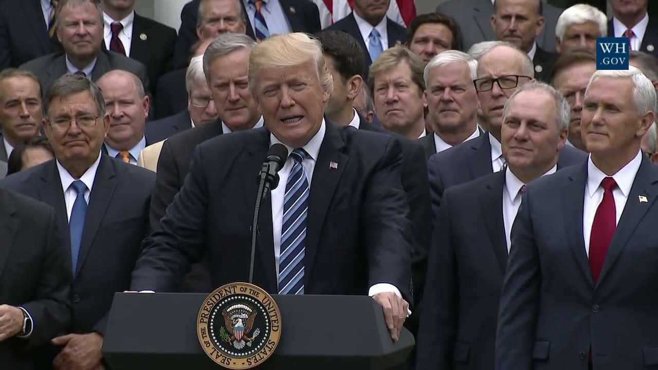 Affordable Care Act Overturned trump