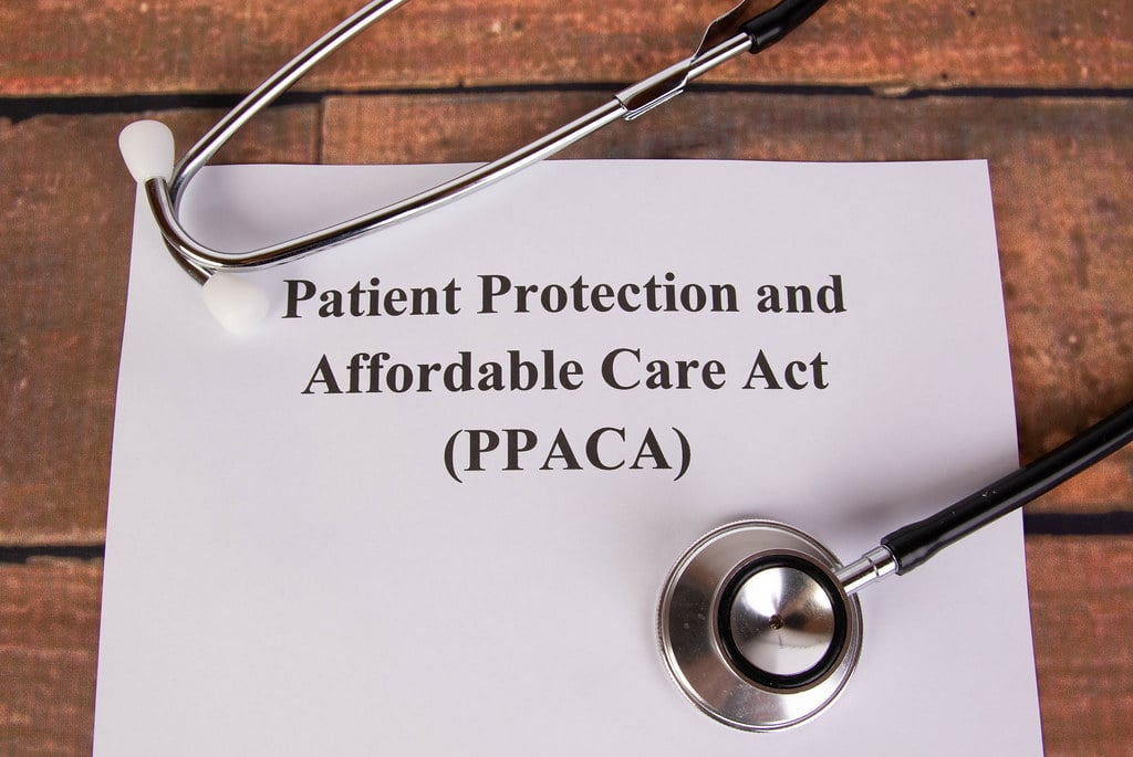 Affordable care act repealed