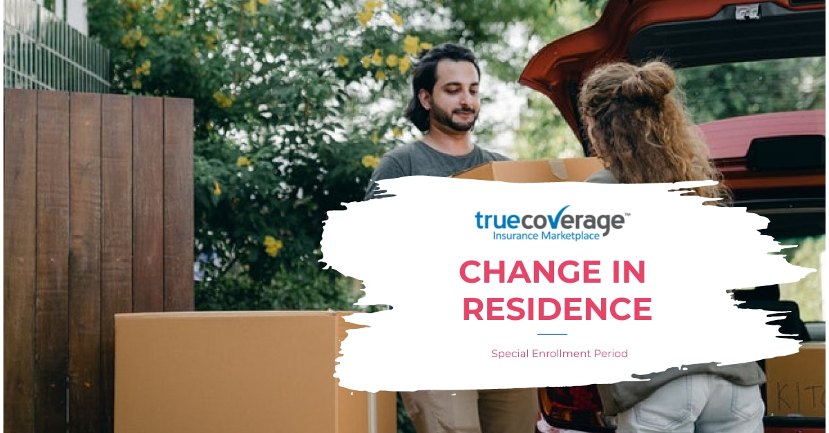 change in residence special enrollment period