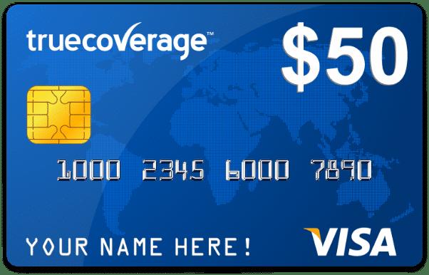 Visa Gift Card 50 Bucks